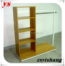 Customized wood best selling shop dancing display shelf