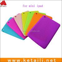 Fashion design soft silicone case for ipad mini