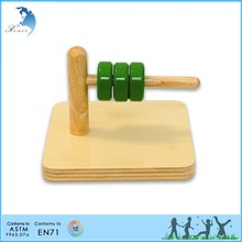Promotional non-toxic direct selling infants toddler Montessori materials supplier