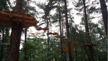 Tree top adventure outdoor toys rope course