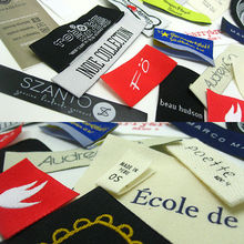 Custom own brand clothing tags