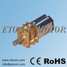 12mm pequeño engranaje 3v motor eléctrico