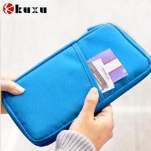 New hot portable women credit ID card holder cash pouch travel bag passport purse