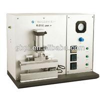Plastic bag heat sealing machine