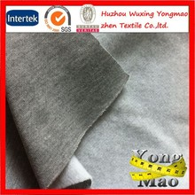 french terry anti static fleece 65 cotton 35 polyester fabric