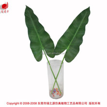 2015 artificial leaves green wall vertical garden decorative leaves