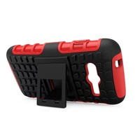 For Samsung Galaxy Ace 4 SILICONE+PC Hybrid Hard Case