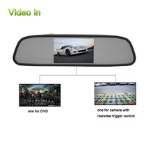 10 Years Experience 4.3inch HD car digital auto dimming rearview mirror