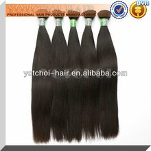 Direct factory price grade 5a brazilian human hair, 100% raw unprocessed virgin human hair weft