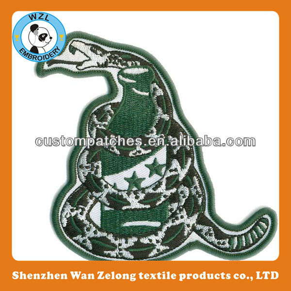 embroidered patch machine