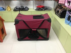 Pet Carrier cage fabric dog kennel