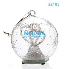 2013 popular Led glass ball for christmas day