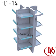 rack shelf phone case display stand wire shelves production line