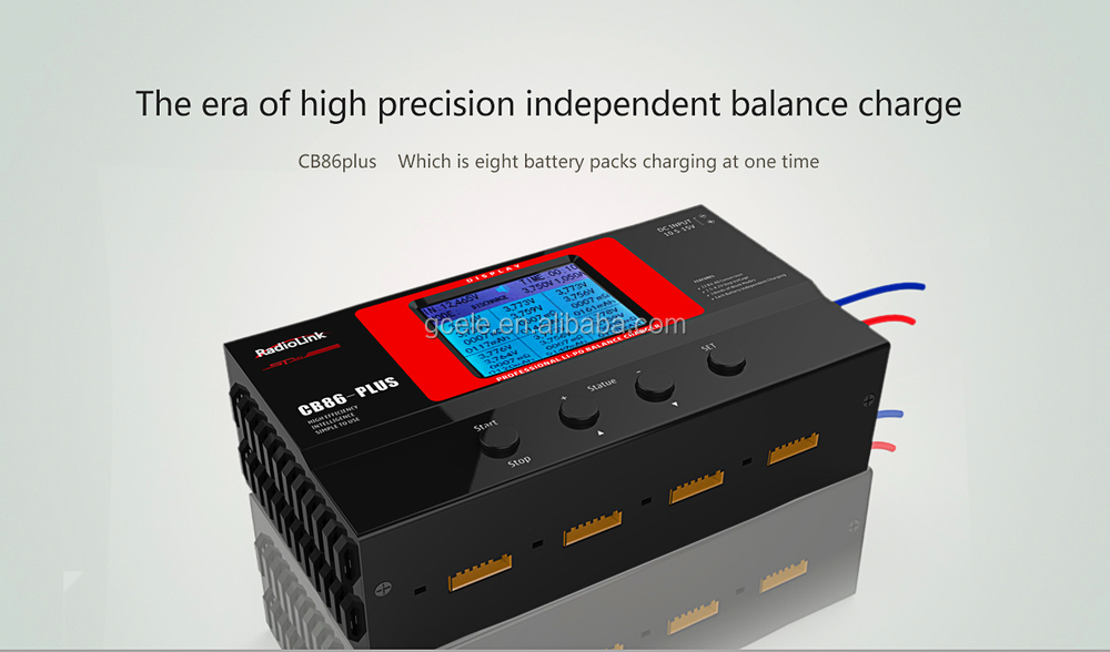 Radiolink Cb86-plus Professional Li Battery Balance Charger --8 ...