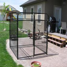 Alibaba best selling high quality dog cage dog kennel welded dog cage