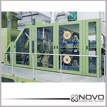 High capacity non woven polyester fiber carding machine