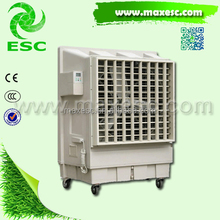 Outdoor new plastic floor stand portable evaporative air cooler