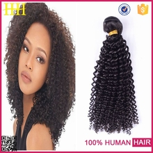 China top ten selling products ali express natural color indian kinky afro hair extention