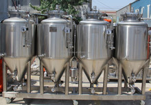 China Manual or Automatic commercial beer brewing system industrial beer brewing equipment