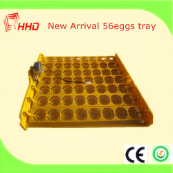 Portable Cheap price and good quality Mini 56 Chicken Eggs Incubator for family use for sale from China