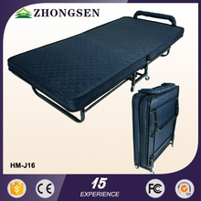 China Supplier Metal Hotel Rollaway newly design folding adjustable beach bed
