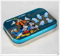 Custom metal small tin box for mint