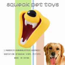 2014 vinyl pet toys dog teeth toy