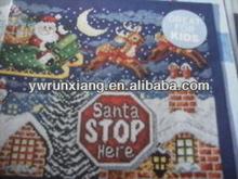 Parada santa escarcha aquí y adornos de navidad& decoraciones
