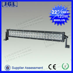 "Big discount!(hot selling) Super bright 22"" 120W CREE High Power Off Road 120w multi color JG-ULB120"
