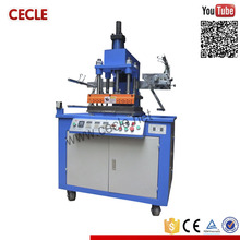 Semi-automatic name embossing machine for cards