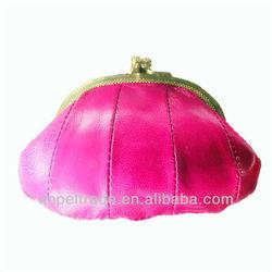 sheepskin change purse