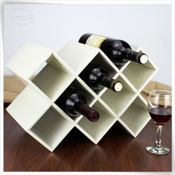 newest pu leather airline wine carrier cardboard wine carriers