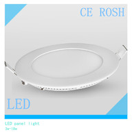 Round 4w 18w high quality led celling panel light