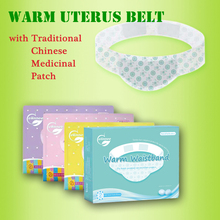 Warm uterus patch for Female period
