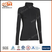 2015 moisture wicking dry rapidly woman long sleeve running jersey