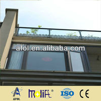 AFOL new design Aluminum Casement Window With Fixed Panel