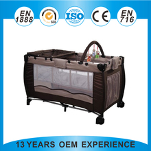 New baby products 2015 competitive baby crib travel baby crib manufactured in China