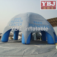 Guangzhou YBJ factory advertising inflatable cube tent on sale