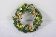 hot sell artificial christmas wreath/garland popular holiday wreath decorations