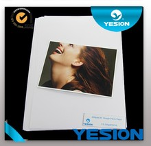 Yesion 2015 Hot Sales! High Quality 260gsm A4 A3 RC Inkjet Photo Paper Waterproof RC Glossy Inkjet Photo Paper