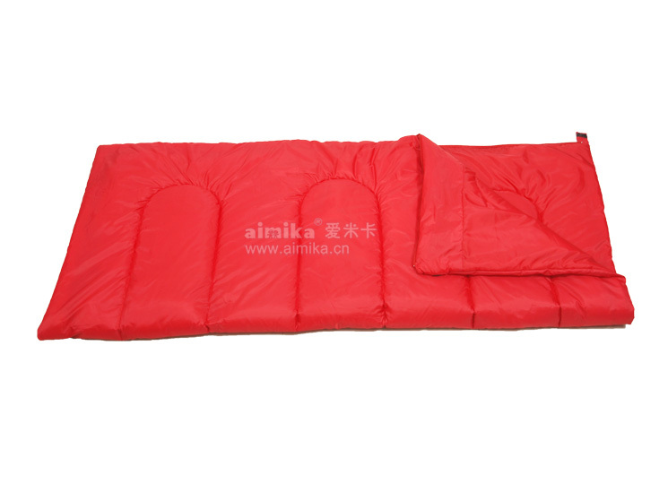 2015 style outdoor waterproof envelope sleeping bag for spring and summer