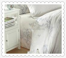 Hot selling designs bamboo jacquard bedding set