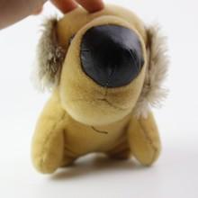 wholsale adorable plush stuffed pug dog toys with big nose