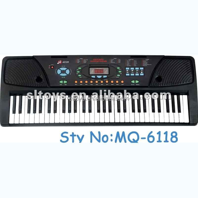 61 teclas de juguetes educativos MQ-6118