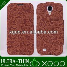 Ancient chinese style leather phone case for samsung S4,legends phone case for samsung galaxy s4