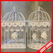 design hanging decoration wedding bird cage hanging bird cage