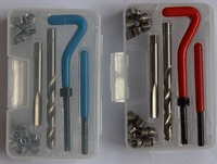 M8*1.25 thread repair tool kits with plastic box packing
