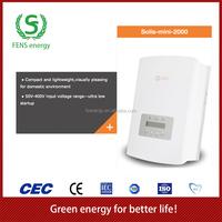 High quality 2000w on grid micro MPPT solar power inverter