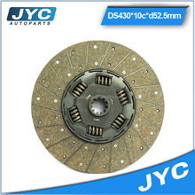 Best quality clutch facings heavy duty clutch disc with 5pcs coppers