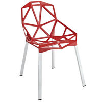 Modern cheap chrome legs national stacking plastic chairs for sale